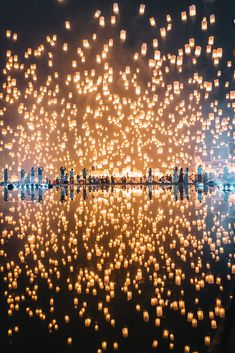 Yi Peng lantern festival, Chiang Mai, Thailand Lantern Festival, Chiang Mai, Your Shot, Wonderful Places, My World, Lanterns, Planets, Thailand, Travel Photography