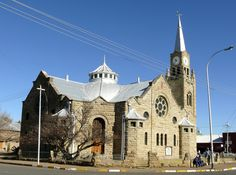 NG Kerk Burgersdorp Church Architecture, Old Churches, Church Building, Mosques, My Land, African History, Afrikaans, Kirchen, Crosses