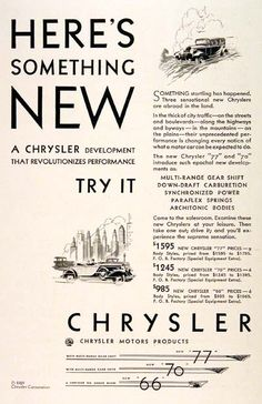 24 Best Classic Chrysler Ads Images On Pinterest Antique Cars