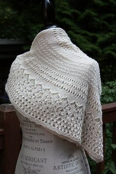 "Ravelry: UrbanStitches' Ivory Tower, ""Steel and Lace"""