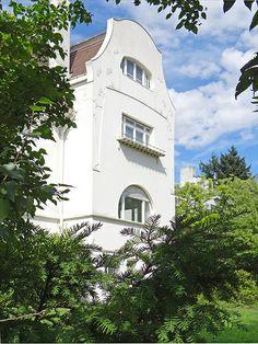 La grande maison Glueckert (Mathildenhöhe, Darmstadt)