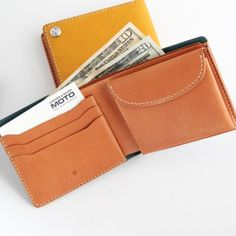 MOTO 2つ折り LEATHER LONG WALLET W-1