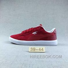 3411eba1b28 Puma Men Leisure Sneaker Md Outsole Pig Leather Red Top Deals
