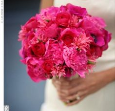 All Fuschia Bouquet