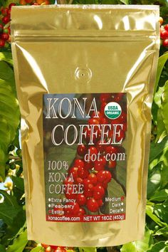 Kona Coffee is just yummy!
