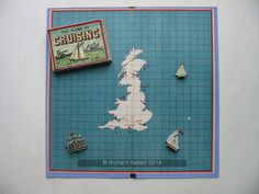 An example of the game Cruising with pictures, Name Games, Vintage Games, Wooden Boxes, Cruise, Pictures, Wood Boxes, Photos, Wooden Crates, Cruises