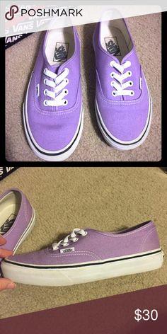 Vans 7.5 women's; lavender Vans Shoes Sneakers