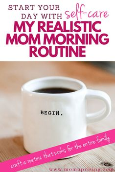 That's why I started a new mom morning routine with kids that simplifies our life and also creates structure to our day. Mom Schedule, Toddler Schedule, Cheap Clean Eating, Mentally Strong, Stress Less, Getting Up Early, Stay At Home Mom, Happy Mom, Happy Family