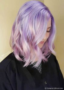 Trendy Silver Rose Hairstyle Colour (9)