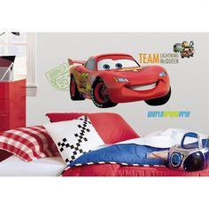 Fotomurales de Disney, Fotomural para Puerta de Disney CARS, RAYO ...