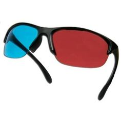 3D Glasses Pro Ana (TM) for movies - HIGH END - Anaglyph Glasses for Computers, Movies - Less Ghosting - Ships from the USA