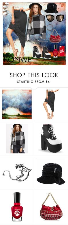 """""""Nothing but Blue Skies   Romwe- Grey shirt"""" by bluehatter ❤ liked on Polyvore featuring Sonia Rykiel and Marc by Marc Jacobs"""