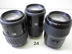 5L87DC MINOLTA 100-300mm F4.5-5.6 レンズまとめて3本 ジャンク_画像1
