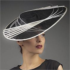 5b3916f0a8f Vivien Sheriff is a renowned designer from England. Her hats have fitted  the heads