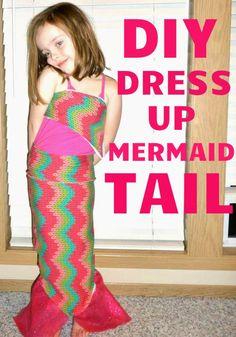 DIY Mermaid Tail. So cute!