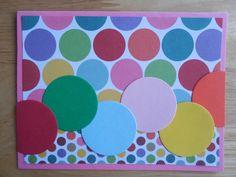 Wordless Rainbow Greeting Card  - Handmade Greeting Card
