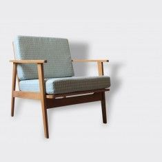Fauteuil 60's style scandinave