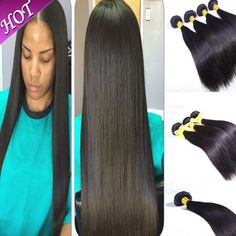 Malaysian virgin straight hair remy queen hair products 100% unprocessed remy human hair weaves 6pcs/a lot 7A Hair Weaving DHL free shipping