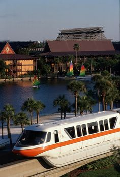 Polynesian Village Resort, Disney World (My favorite place to stay when I was young...not to mention my favorite color Monorail!)