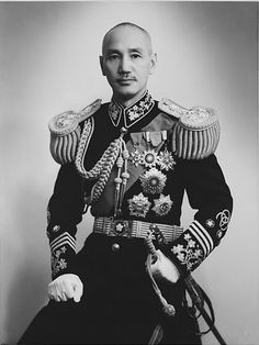 Chiang Kai-shek, no doubt, was and probably still is, a big name in Taiwan. A Chinese political and military leader, Chiang Kai. Asian History, Modern History, History Pics, Tianjin, Chongqing, World History, World War, Government Of China, Influential People