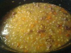 Partageons nos secrets de cuisine : Soupe au pois et jambon (mijoteuse)