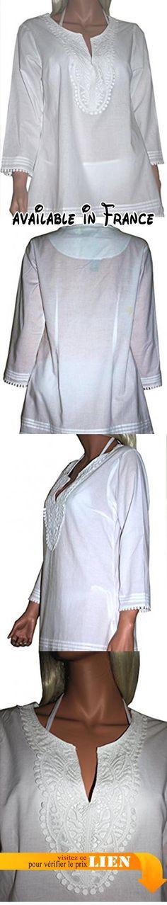 B073WHLLVF : Raivar - Chemisier - Femme - blanc -.