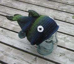 stinky fish hat crochet pattern