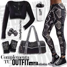 #EjercitaTuEstilo este #OutFit te hará lucir cómoda y segura al momento de realizar cualquier actividad física #YoSoyBodyFit #WildCollectionBodyFit #GymTime #GetMotivated #FitsPiration #FashionTrends #fashionfitness #GymTim #FitsPiration #Fitness #Modern #Anathomic #FashionSport #PhotoOfTheDay #LifeStyle #Woman #Shop #Casual #Trendy