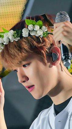 Want a flower pot? OF COURSE YES  ITS BYUN BAEKHYUN FLOWER POT VERSION