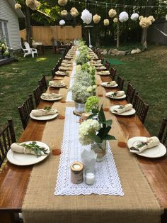 What a beautiful table for 48!! #ctwedding #farmtables #teamshademakers & Tents Unlimited (tentsunlimited) on Pinterest