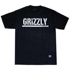#Grizzlygriptape #Tshirt OG Stamp Logo Noir:  http://everythinghiphop.fr/nouveautes/grizzly-griptape-t-shirt-og-stamp-logo-noir.html #grizzly #tshirts #teeshirt #skate