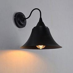 Buyee® Modern Loft Metal Vintage Industrial Rustic Scone Wall Light Wall Lamp(Iron cap wall sconce Black) Shenzhen Buyee Trading Co.,Ltd http://www.amazon.co.uk/dp/B00Y482JO4/ref=cm_sw_r_pi_dp_3JBDvb0NPHABH