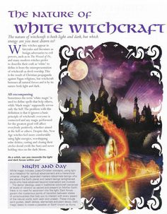 White witchcraft