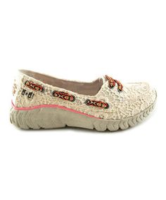 Natural Tequila Lace Wolfie Slip-On Sneaker
