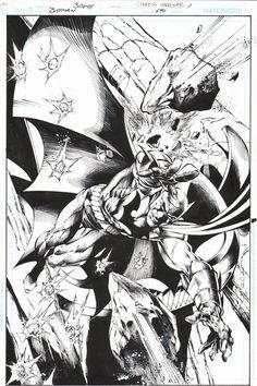 Batman #690 splash by Mark Bagley & Rob Hunter. Boom shakalaka.