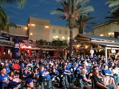 Tampa Bay Lightning Official Watch Party in Channelside! Stanley Cup Finals, Tampa Bay Lightning, Hockey, Dolores Park, Basketball Court, Fans, Watch, Party, Clock