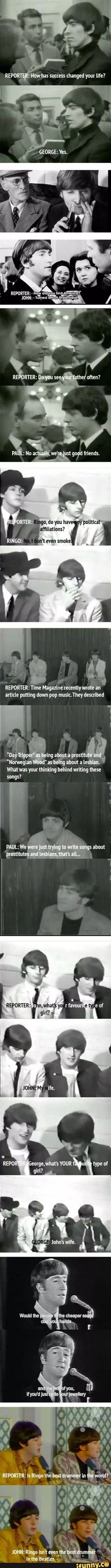 The Beatles, ladies and gentlemen