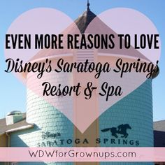 Even More Reasons To Love Saratoga Springs Resort & Spa Disney Honeymoon, Disney Vacation Club, Orlando Vacation, Walt Disney World Vacations, Disney Trips, Vacation Planner, Disney Travel, Saratoga Springs Disney, Saratoga Springs Resort
