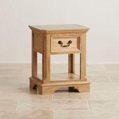 Edinburgh Natural Solid Oak 4ft 6in Full Bed | Full Beds | Beds | Bedroom Furniture | Shop by Room Oak Furniture Land