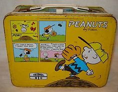 1965 Peanuts lunch box