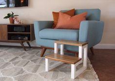 Solid Wood Modern Pet Steps Available In An Array Of Color And Wood Choices!
