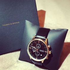 Thomas and George. Great watches. #thomasandgeorge.