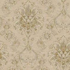 Incredibly Gorgeous Victorian Damask Wallpaper Double Roll Bolts FREE SHIPPING