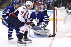 Nicklas Backstrom and the Capitals aren't getting many great looks at Maple Leafs goalie Frederik Andersen. (Nathan Denette/The Canadian Press via AP)  Feeling any better, Caps fans? After setting off panic by going down in the series two-games-to-one, Washington has fought back to put the...  http://usa.swengen.com/capitals-vs-toronto-maple-leafs-stanley-cup-playoffs-game-6-live-updates-results-and-analysis/