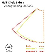 Results: 2 Ways to Lengthen a Half-Circle Skirt « 3 Hours Past the Edge of the World