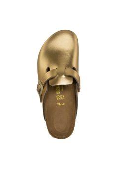 Birkenstock Boston Sandalias Metallic Gold zuecos calzado sandalias Metallic Gold Boston Birkenstock CentralModa.eu