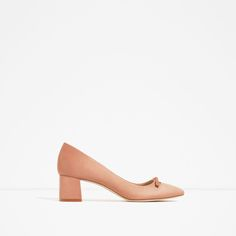 ZARA - WOMAN - HIGH HEEL SHOES WITH BOW DETAIL