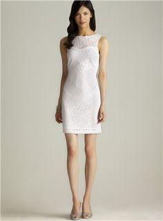 Marc New York V Back Lace Dress, Loehmann's