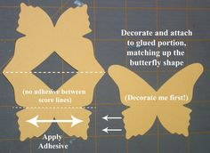 Michey Made This: Butterfly Easel Card Tutorial