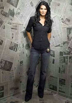 Angie Harmon on Rizzoli and Isles